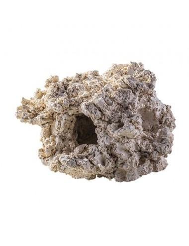 ARKA - Reef Cave 2 trous - 10cm - Roche en céramique