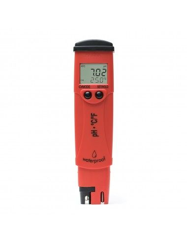 Hanna Instruments - Testeur de pH/°C étanche - HI98128