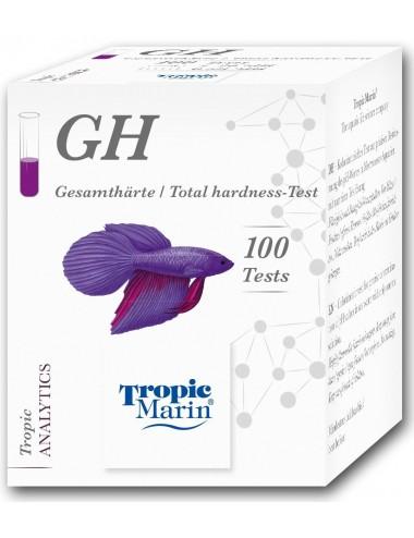 TROPIC MARIN - Test GH - Analyse de la dureté totale
