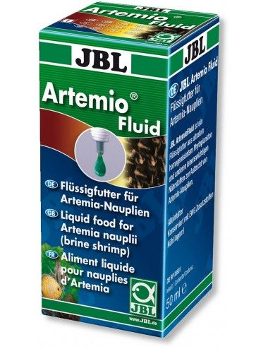 JBL - ArtemioFluid - 50ml - Aliment complet pour crustacés