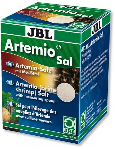 JBL - ArtemioSal - 200ml - Sel pour la culture de nauplies d'artémias