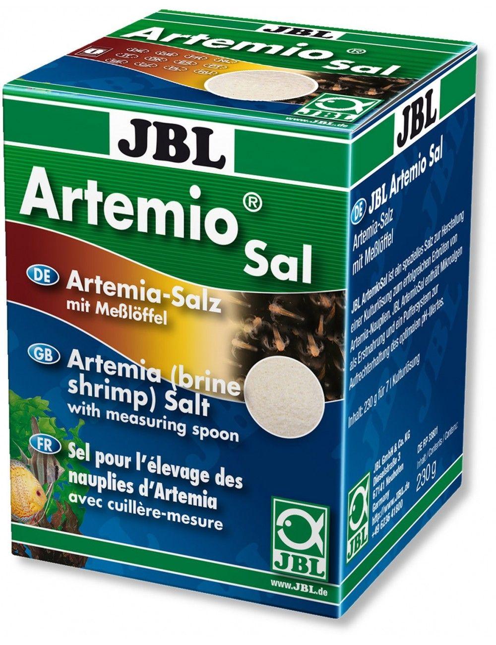 JBL - ArtemioSal - 200ml - Sel pour la culture de nauplies d'artémias