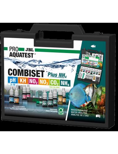 JBL - Mallette ProAquaTest CombiSet 5 Tests + NH4