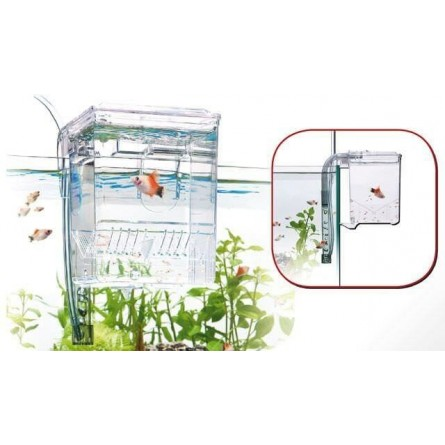 WAVE - Pondoir externe pour aquarium - 1.2 litre