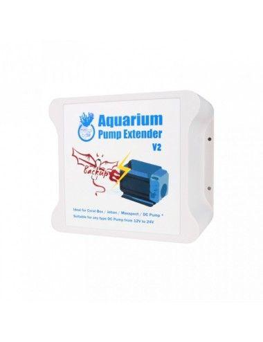 CORAL BOX - Aquarium Pump Extender V2 - Batterie de secours pour pompes