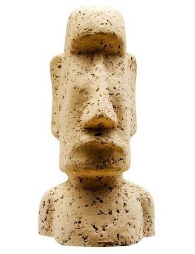 ARKA - Moai - 16 cm - Décoration pour aquarium en céramique