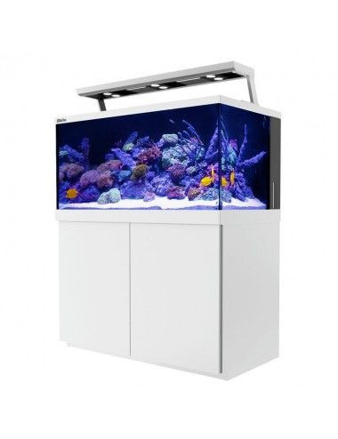 RED SEA - Aquarium Max® S-500 + LED 3x ReefLeds - Meuble Blanc - 500 litres