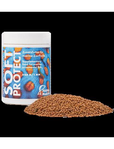 FAUNA MARIN - Marine Soft Protect M - 100ml - Nourriture en granulés 1.0mm