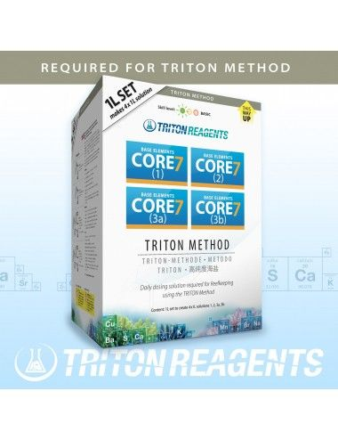 TRITON LABS - Core7 Base Elements - 4x1000ml
