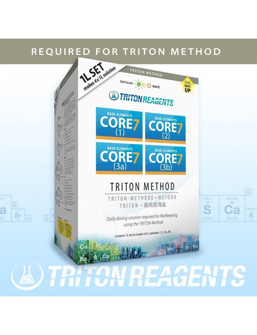 TRITON LABS - Core7 Base Elements - 4x1000ml