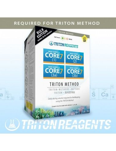 TRITON LABS - Core7 Base Elements - 4x4000ml