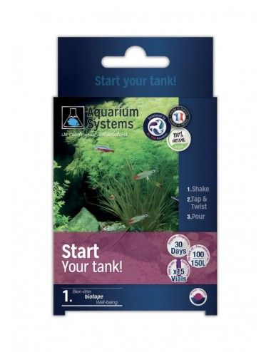 AQUARIUM SYSTEMS - Start Up Your Tank Fresh - Bactéries de démarrage pour aquarium