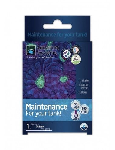 AQUARIUM SYSTEMS - Maintenance For Your Tank Marine - Bactéries de démarrage pour aquarium