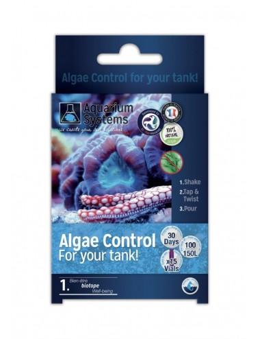 AQUARIUM SYSTEMS - Algae Control Marine - Bactéries de démarrage pour aquarium