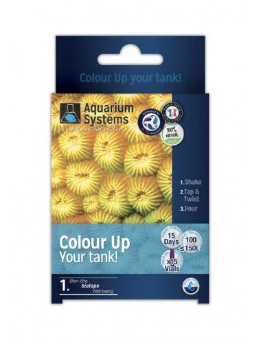 AQUARIUM SYSTEMS - Color Up Your Tank - Nutriments pour coraux