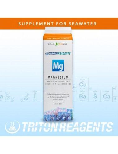 TRITON LABS - Mg - 1000ml - Complément de magnésium pour aquarium