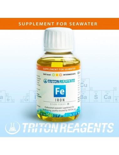 TRITON LABS - Fe - 100ml - Complément de fer pour aquarium