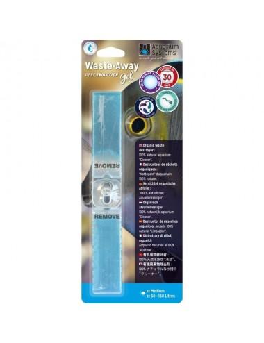 AQUARIUM SYSTEMS - Waste-Away Gel Marine Medium - Bactéries en gel (x2)