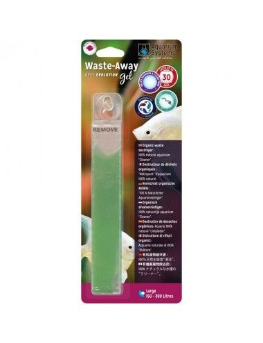 AQUARIUM SYSTEMS - Waste-Away Gel Eau douce Large - Bactéries en gel