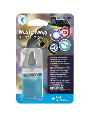 AQUARIUM SYSTEMS - Waste-Away Gel Marin Small - Bactéries en gel