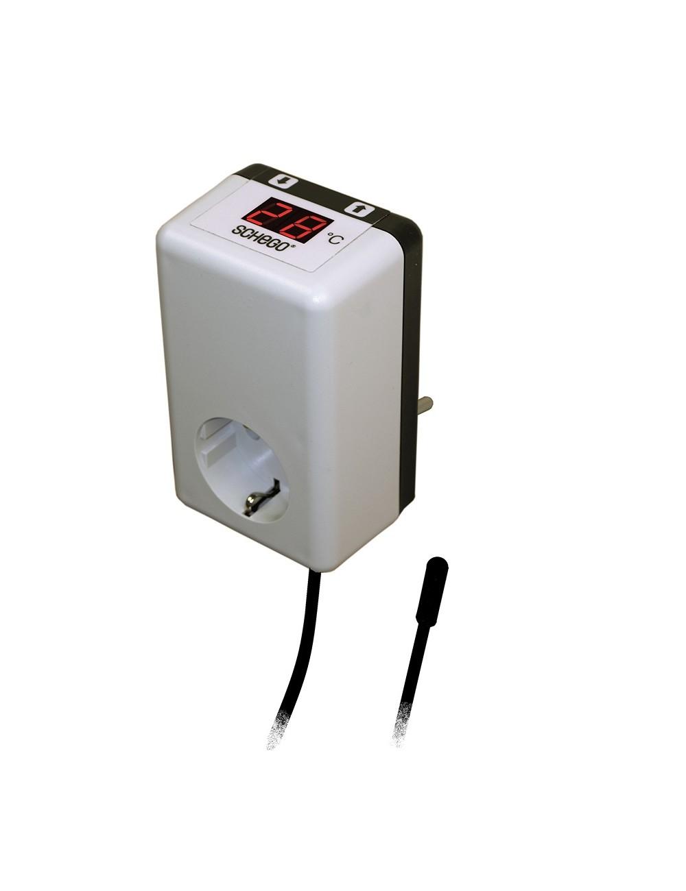 SCHEGO - Thermostat TRD - Thermostat résistance jusqu'à 1000w