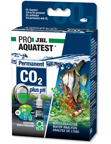 JBL - ProAquaTest CO2/pH Permanent - Test de la teneur en CO2 et le pH