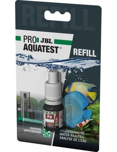 JBL - Recharge ProAquaTest Fe - Test de la teneur en fer de l'eau