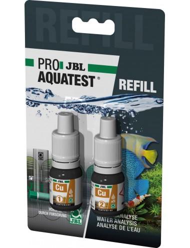 JBL - Recharge ProAquaTest Cu - Test de la teneur en cuivre de l'eau