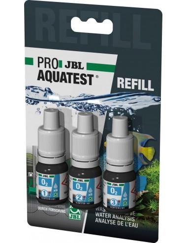 JBL - Recharge ProAquaTest O2 - Test de la teneur en oxygène de l'eau