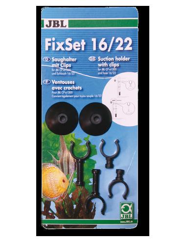 JBL - FixSet 16/22 - Kit de fixation pour tuyaux 16/22mm
