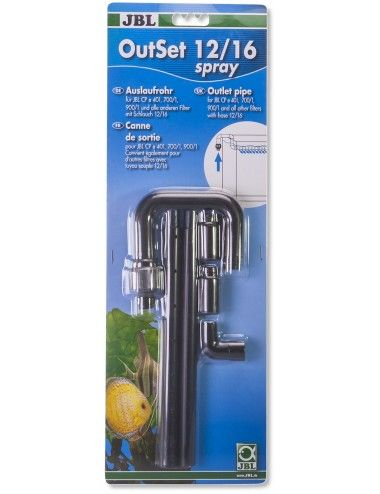JBL - OutSet 12/16 spray - Kit de rejet d'eau avec spray-bar