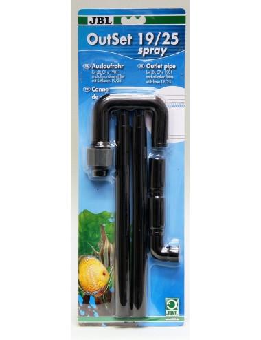 JBL - OutSet 19/25 spray - Kit de rejet d'eau avec spray-bar