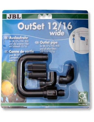 JBL - OutSet 12/16 wide - Kit de retour d'eau avec buse