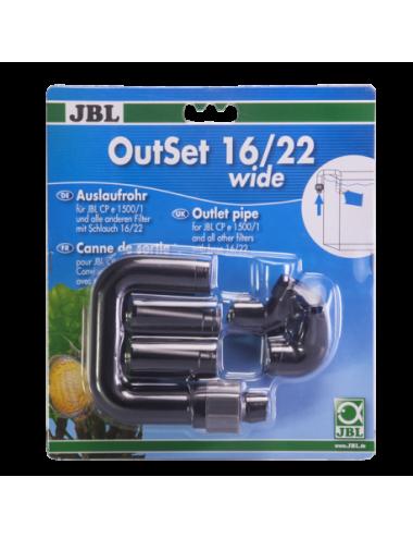JBL - OutSet 16/22 wide - Kit de retour d'eau avec buse