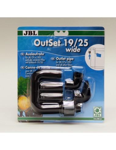 JBL - OutSet 19/25 wide - Kit de retour d'eau avec buse
