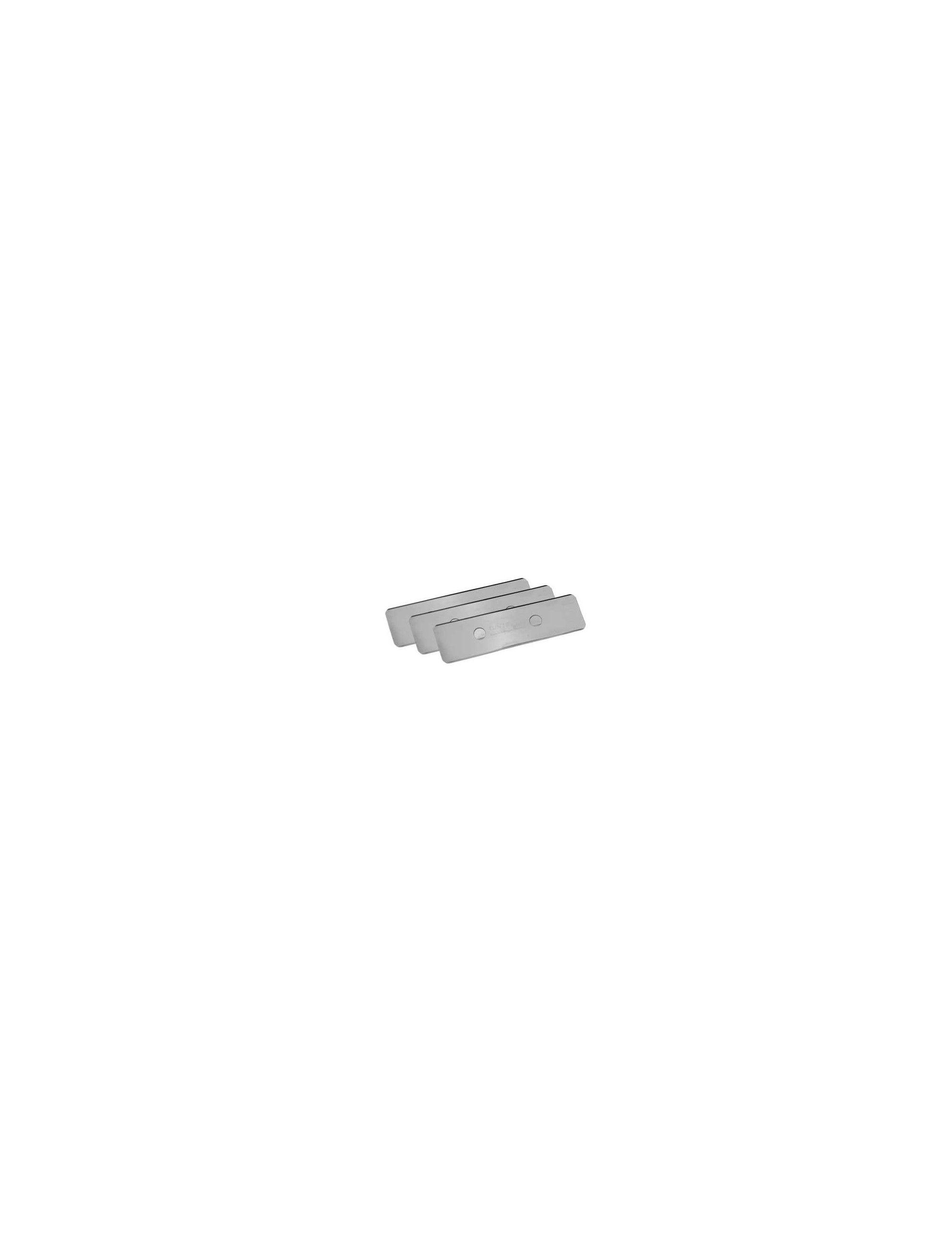 TUNZE - Lames acier inoxydable pour Care Magnet (3 pièces) 0220.155