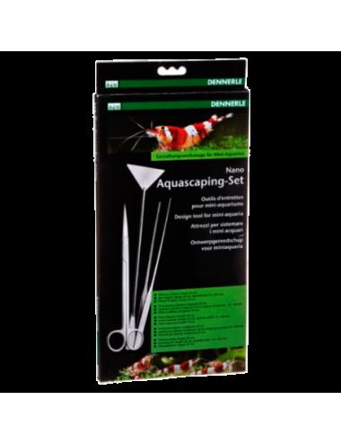 DENNERLE - Nano Aquascaping-Set (ciseaux, pincette, spatule)