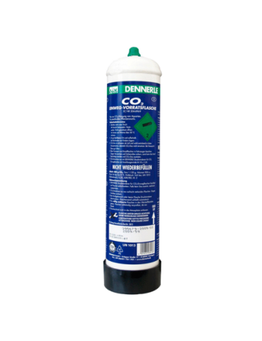 DENNERLE - Bouteille CO2 jetable - 1200 g