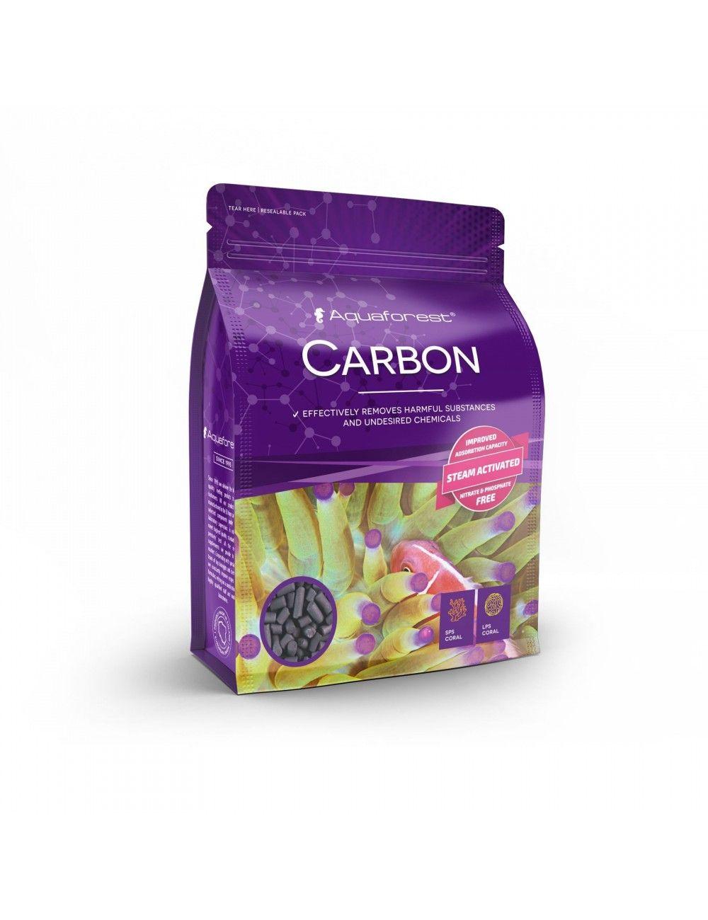 AQUAFOREST - Carbon - 1L - Charbon actif pour aquarium