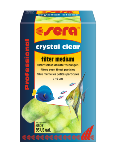 SERA - Crystal Clear Professional - 12 pcs - Média de filtration