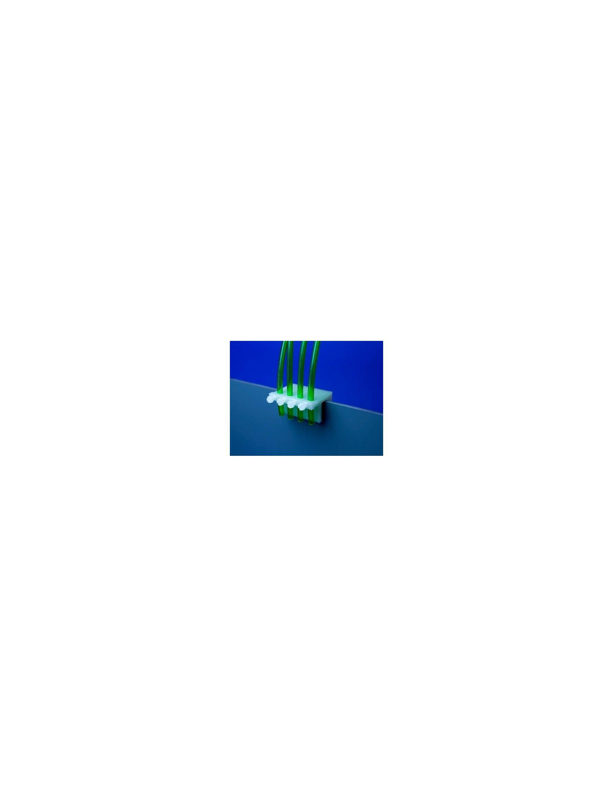 AQUACONNECT - Support de fixation pour tuyaux de pompes doseuses