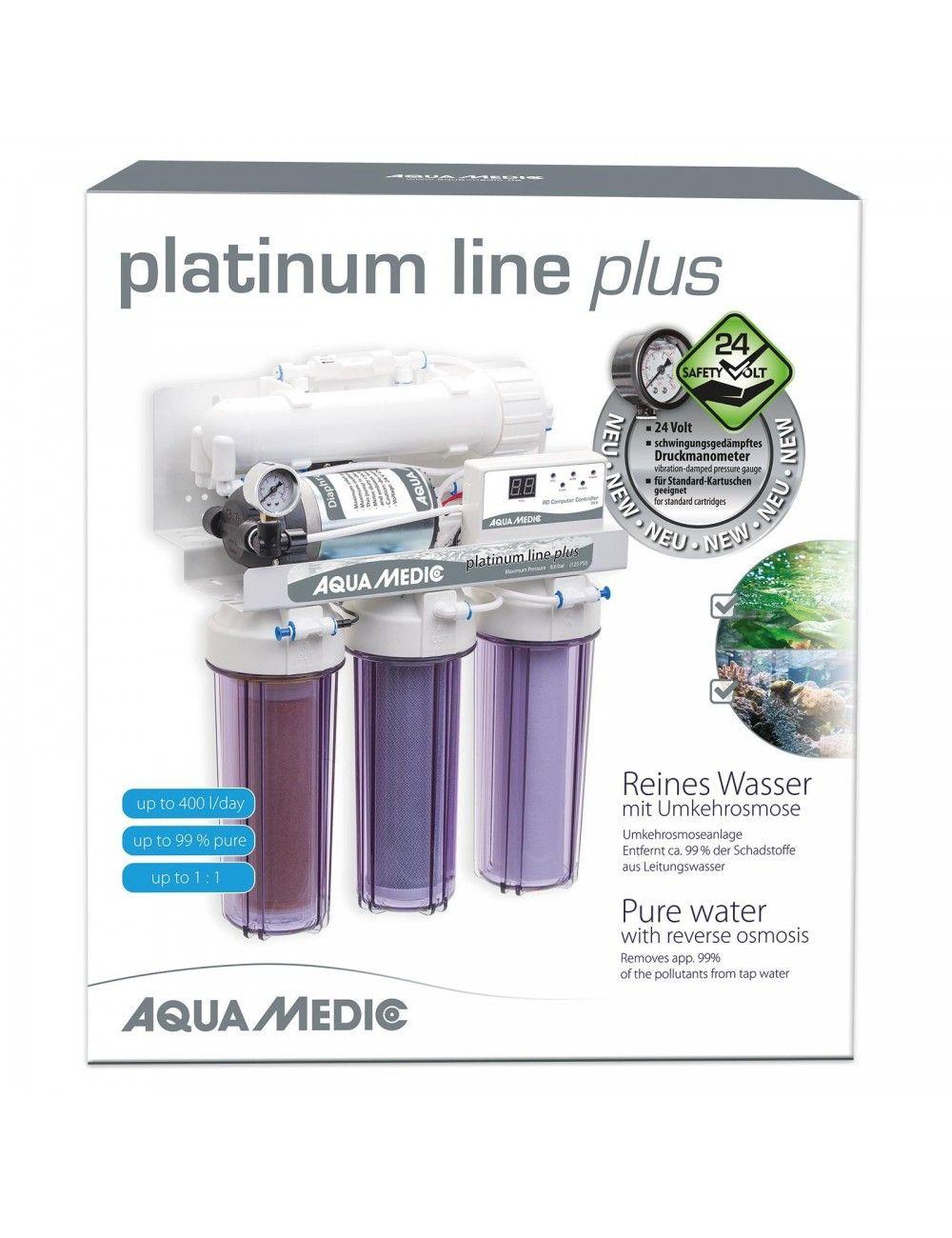 AQUA-MEDIC - Platinum Line Plus 24v - Osmoseur 400 litres/jour