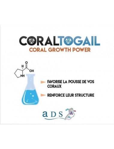 ADS - Coral Togail - 2l - Booster de croissance pour coraux