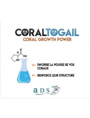 ADS - Coral Togail - 4L - Booster de croissance pour coraux