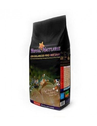 ROYAL NATURE - Ion Balanced Pro - Sac 23kg - Sel naturel pour aquarium recifal