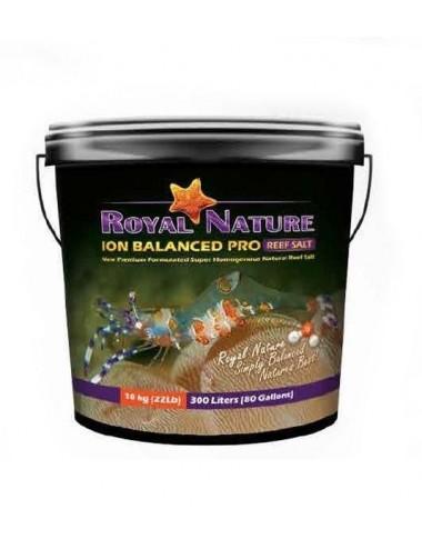 ROYAL NATURE - Ion Balanced Pro - Seau 10kg - Sel naturel pour aquarium recifal