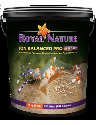 ROYAL NATURE - Ion Balanced Pro - Seau 23kg - Sel naturel pour aquarium recifal