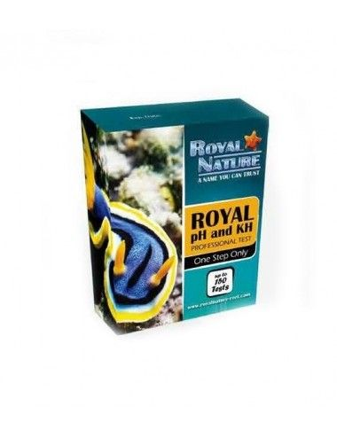 ROYAL NATURE - PH+KH Professional Test - 150 mesures