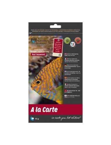 AQUARIUMS SYSTEM - Nourriture A la carte Red Seaweed 15g