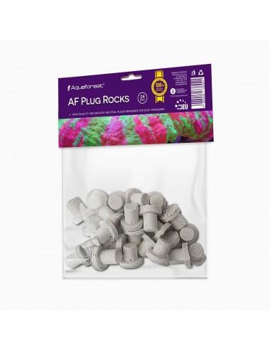 AQUAFOREST - Af Plug Rock - Lot de 24 plugs à boutures
